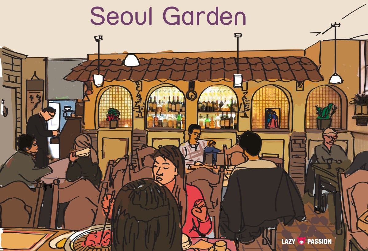 Seoul Garden ~ Korean food in Den Haag
