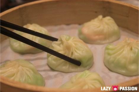 food trend dintaifung vegetarian dumpling