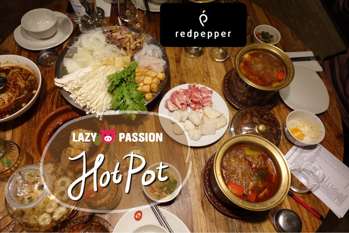 Sichuan hot pot at Red Pepper Rotterdam (closed)