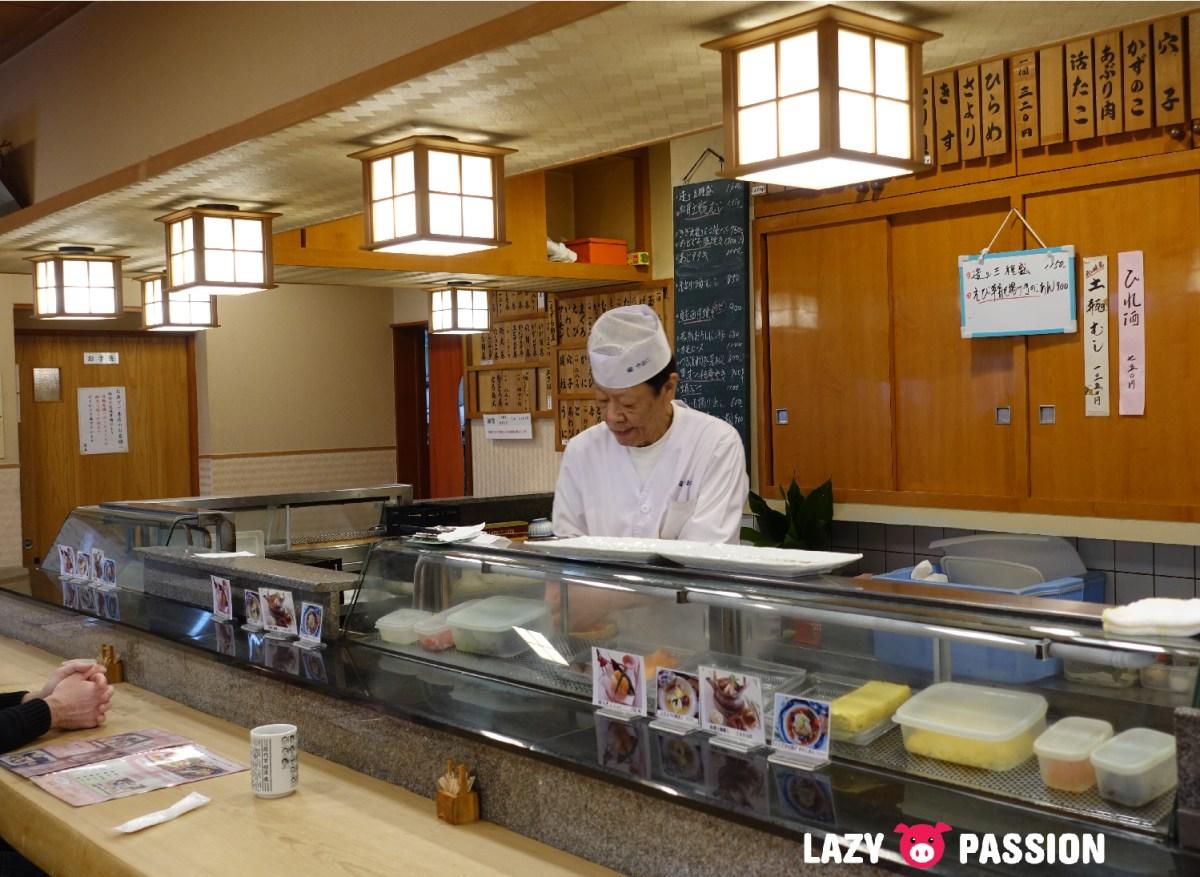 Types of restaurants in Japan