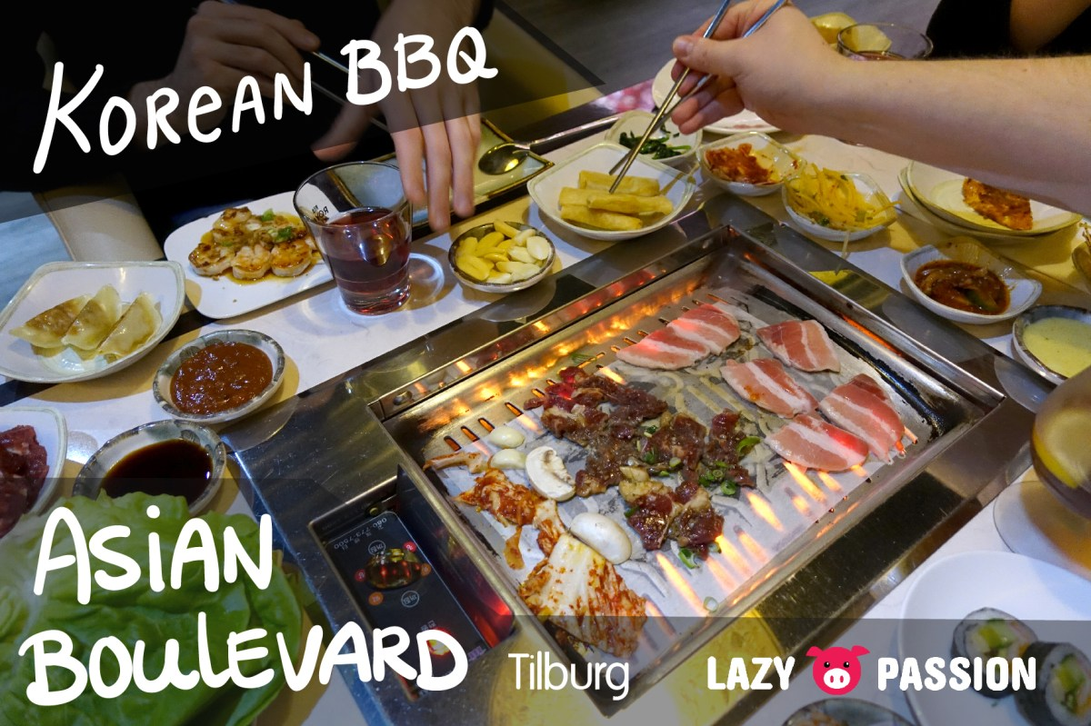 Korean BBQ at Asian Boulevard in Tilburg