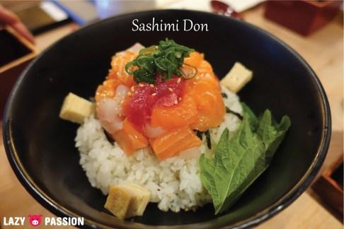Sashimi don Don Kounosuke Utrecht