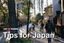 Japan Tips lazypigpassion