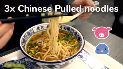 Chinese pulled noodles