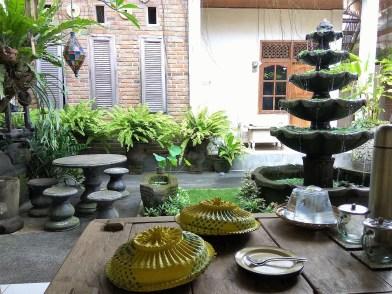 Our homestay in Kuta, Bali