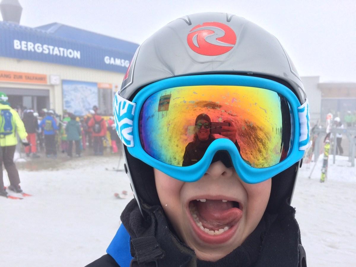 Gdzie uczyć dziecko jeździć na nartach - Alpy austriackie