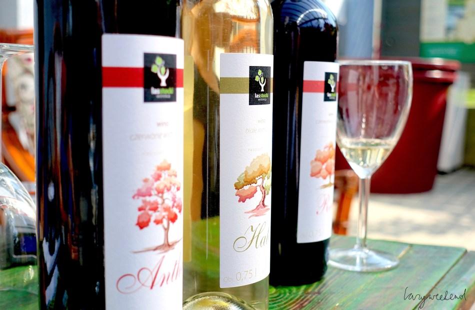 Winnica Las Stocki butelki