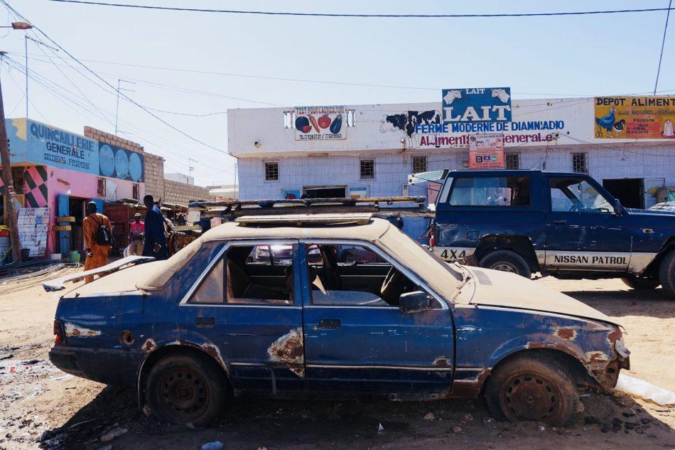 Paryż Dakar Senagal Renault