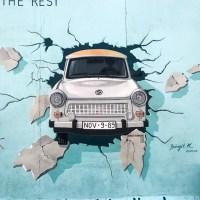 Berlin - królestwo zaangażowanego street artu - East Side Gallery