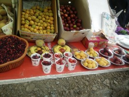 A fruit stall