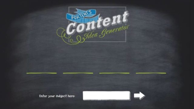 Portent - tools used in content writing