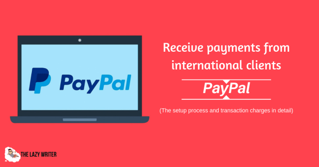 Receive international payments through PayPal