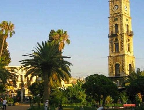 برج الساعة في طرابلس