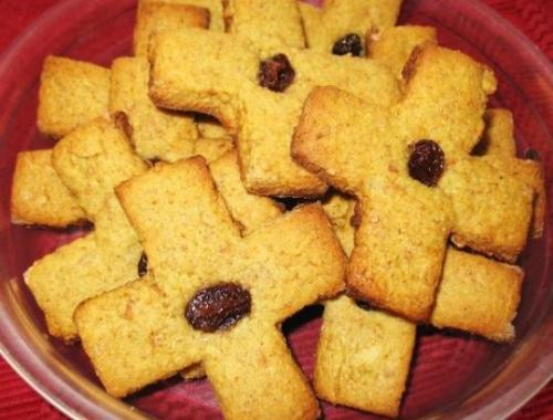 """Обрядовое печенье """"Крещенский крест"""""""