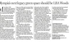 In the Olympian:  Olympia's next legacy green space