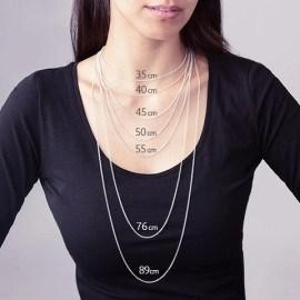 استحواذ الربح انصهار collier 45 cm femme