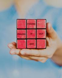 Figure it out dans un rubik's cube