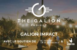 Capture d'écran du site The Galion Project, Galion Impact