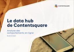 Page de garde du rapport ContentSquare