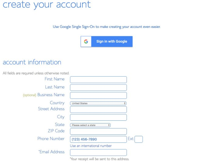 Create your account on Bluehost using my bonus offer