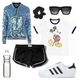 Mickey-Sequin-Sporty-Look
