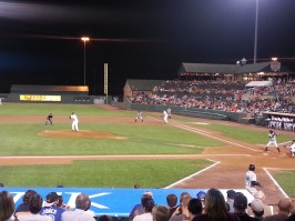 The Ironbirds could not recover from Hudson Valley's early lead, losing 6-5.