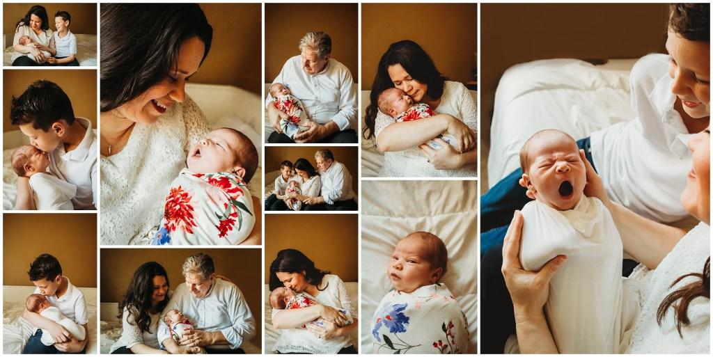 Newborn photographer located in Tampa, Florida. Tampa, Florida Newborn photography. Newborn with family for newborn photo session. Tampa, Florida Newborn Photographer. Newborn session in Tampa.