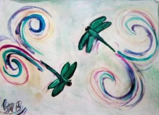 Dragon Flies Dance