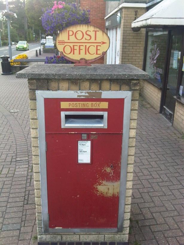 E2R pillar box, 1970s, Dorset. Robert Cole