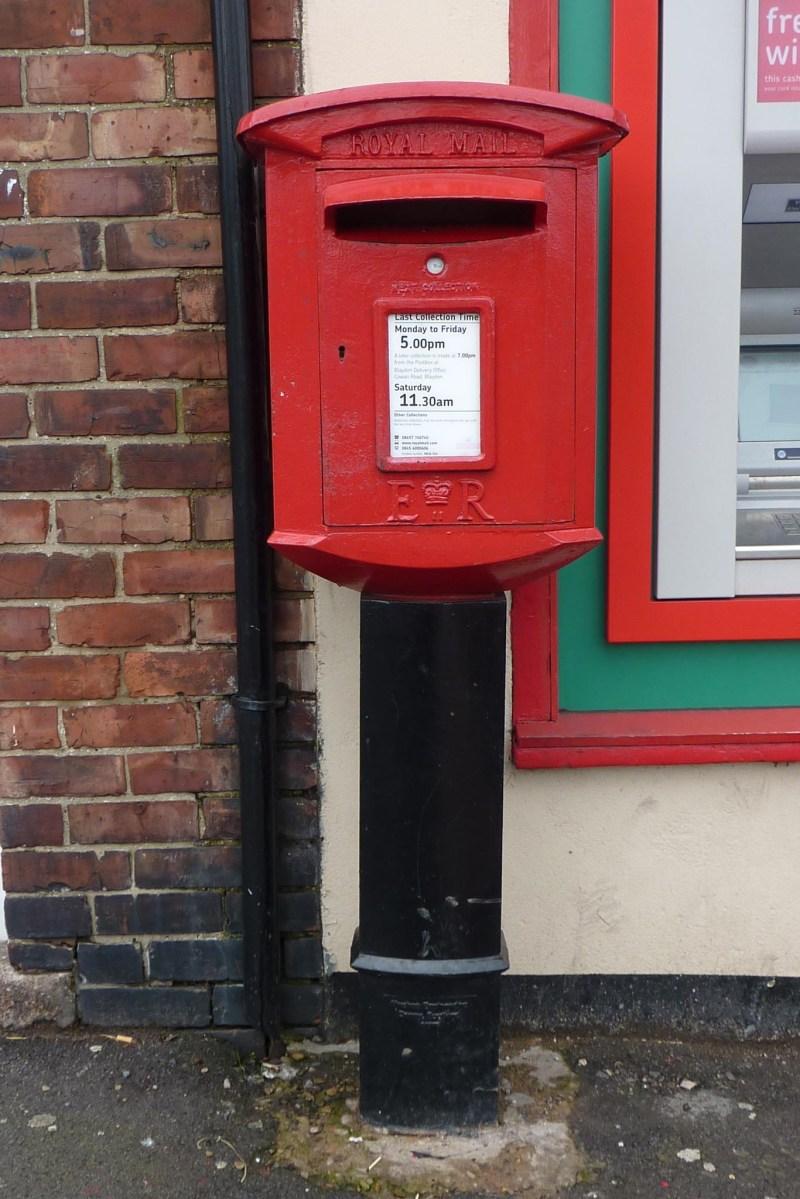 E2R pedestal box, 1990s, Tyneside. Andrew R Young