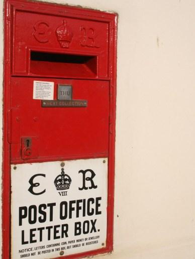 E8R Ludlow wall box, 1930s, Suffolk. Robert Cole