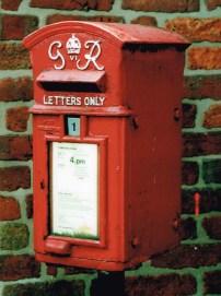 G6R lamp box, 1930s, Northern England. Simon Vaughan Winter