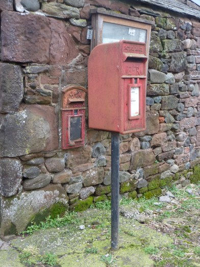E2R lamp box, 2000s with earlier GR lamp box. Northern England. Andrew R Young