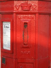VR pillar box, 1850s, Suffolk. Robert Cole