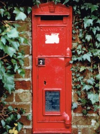 VR wall box, 1860s, Suffolk. Simon Vaughan Winter