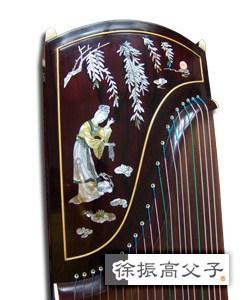 紫壇貝雕古箏 HKD $38000 (款三)