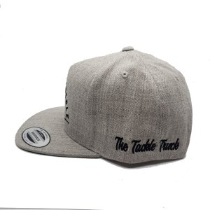 The Tackle Truck 5 Panel Hat (Side) - Grey