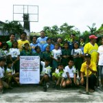 BCPC conducts tree planting at San Antonio Elem School