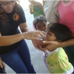 Feeding program, isinagawa ng LB Group at iba pang volunteers