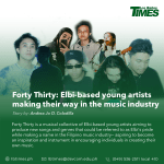 Forty Thirty is a musical collective of Elbi-based young artists aiming to produce new songs and genres that could be referred to as Elbi's pride while making a name in the Filipino music industry— aspiring to become an inspiration and instrument in encouraging individuals in creating their own music.