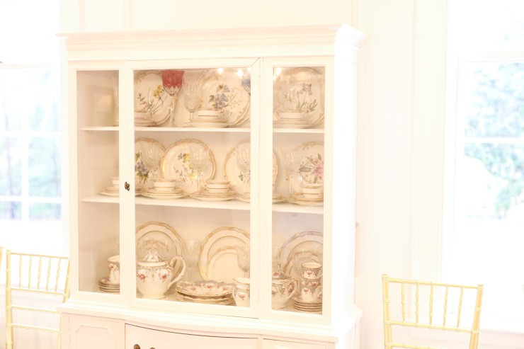 Baby Shower China Cabinet