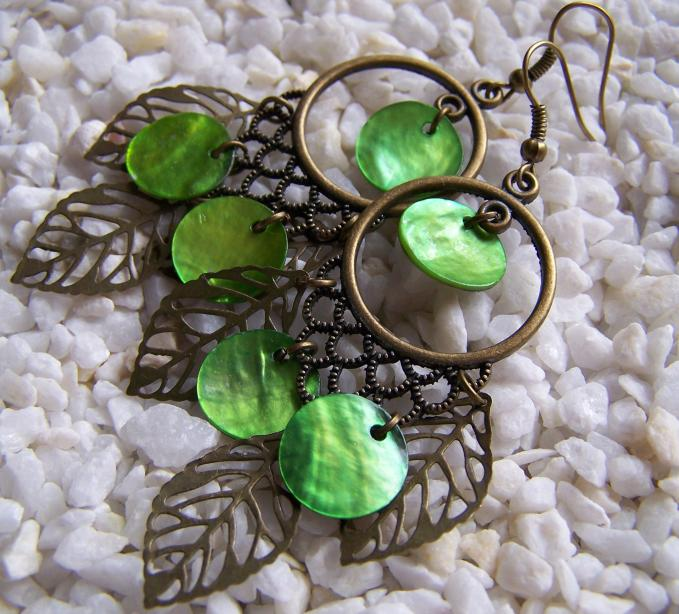 Vintage Chandelier Earrings