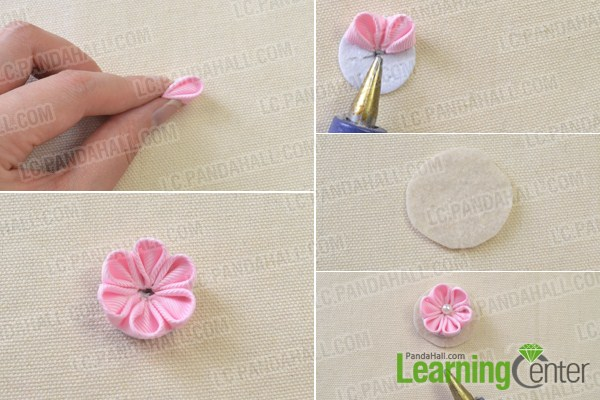 Tutorial on How to Make a Flower Ribbon Headband for Girls     Tutorial on How to Make a Flower Ribbon Headband for Girls