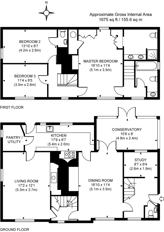 Old Woking Woking Surrey Gu22 4 Bedroom Detached House