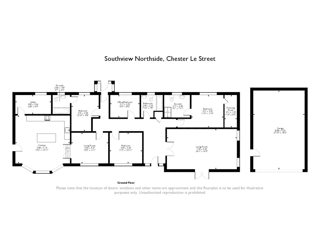 4 Bed Detached Bungalow For Sale In Northside Chester Le