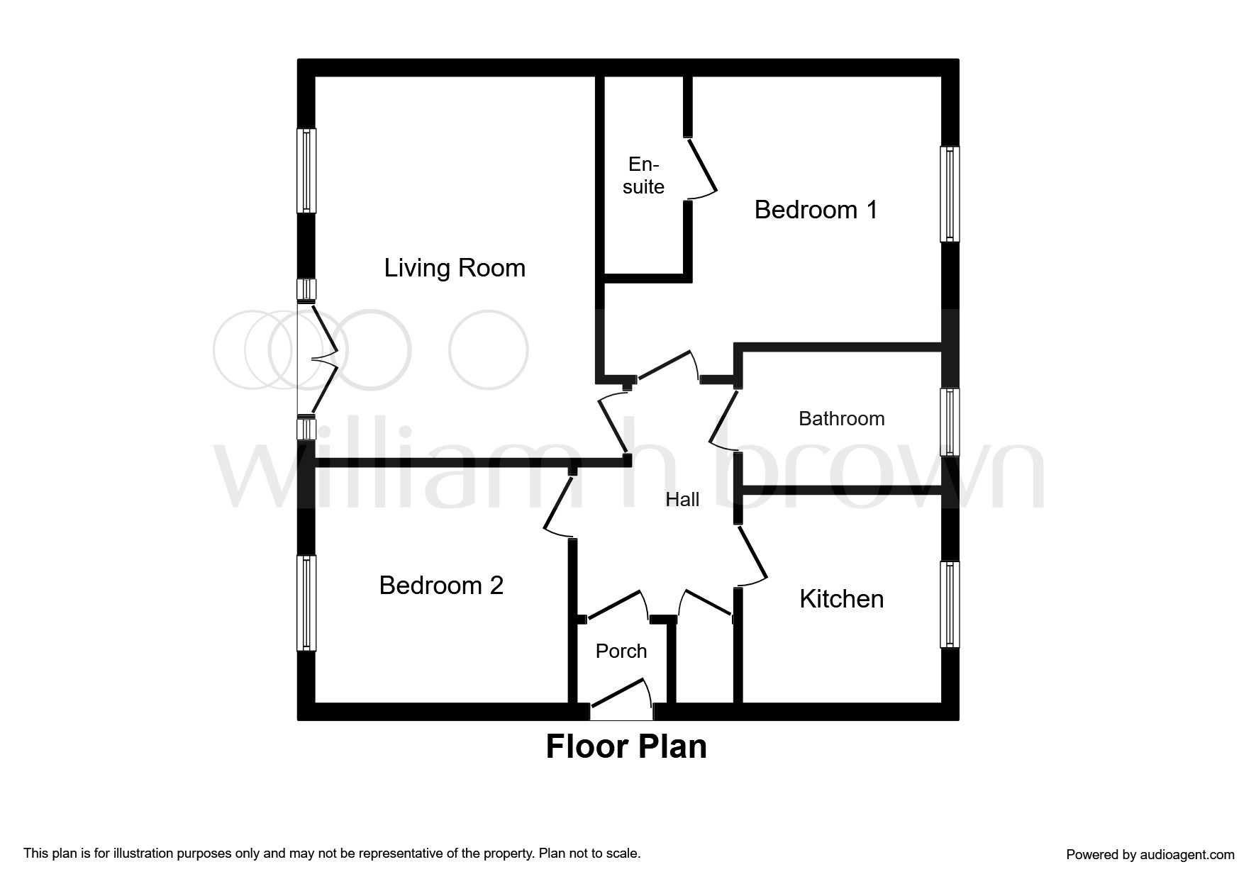 2 Bed Flat For Sale In Jacobs Close Great Cornard Sudbury Co10