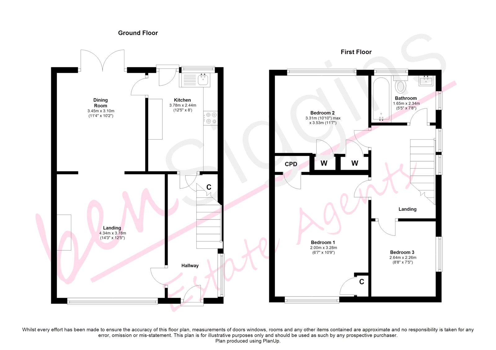 3 Bed Semi Detached House For Sale In Plumtrees Maidstone