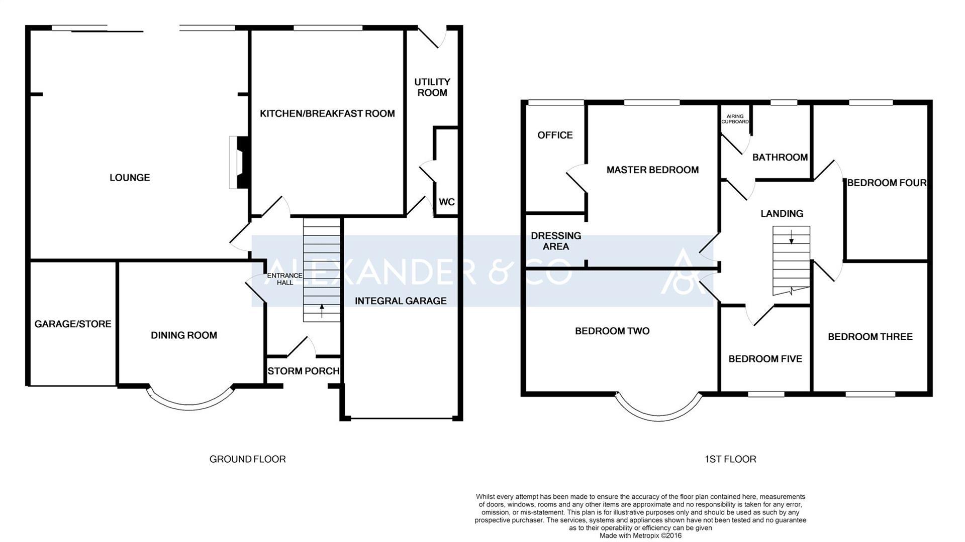 Lancot Avenue Dunstable Lu6 5 Bedroom Detached House For