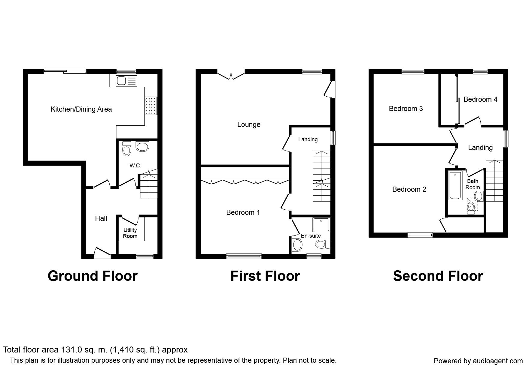 Box Tree Grove Keighley Bd21 4 Bedroom Property For Sale