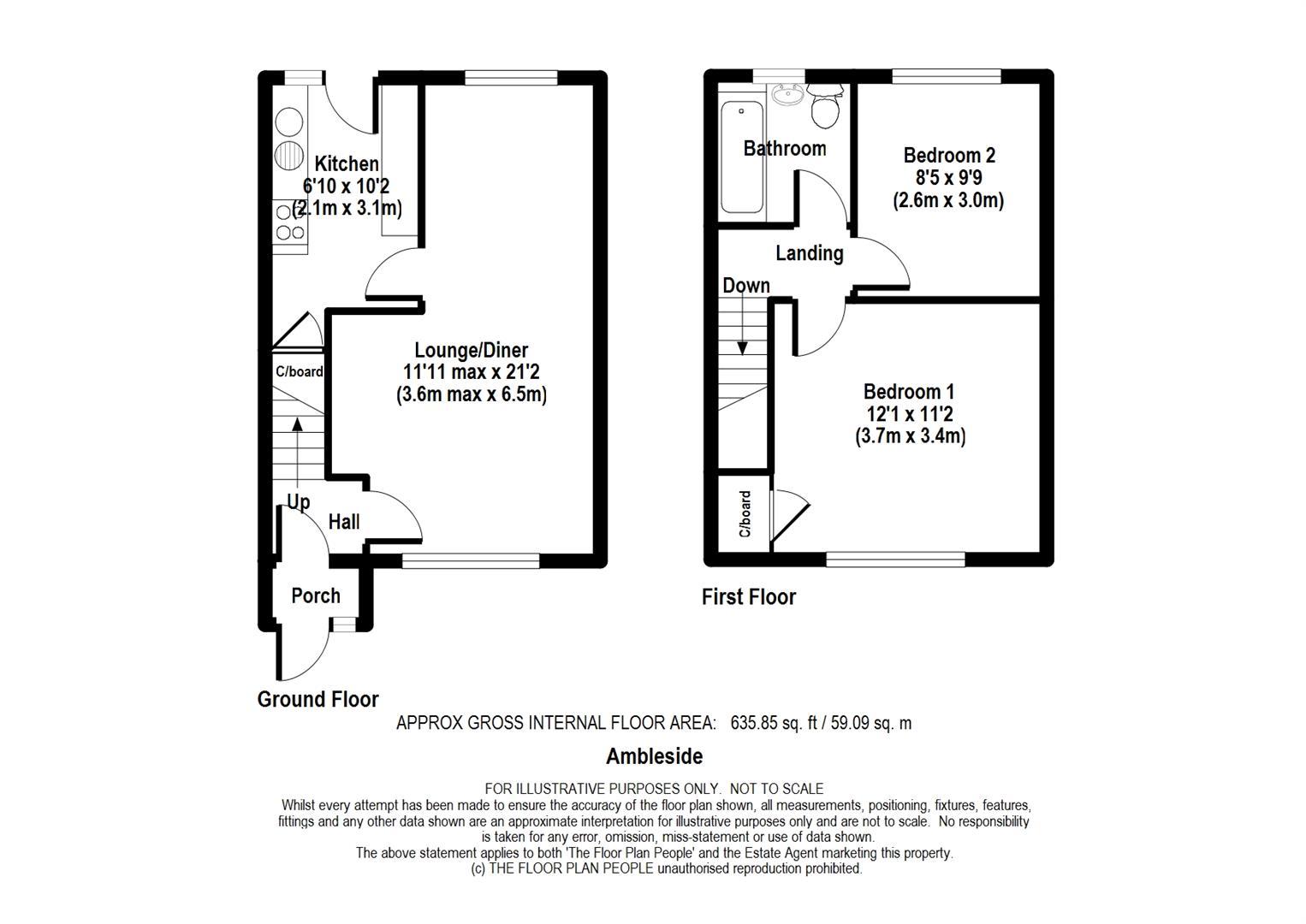 Ambleside Sittingbourne Me10 2 Bedroom Terraced House To